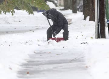 Forecasters are closely monitoring a storm system that could bring some snow to New Jersey this weekend. Parts of the state also could get some fast-moving snow squalls on Thursday. (Keith A. Muccilli | For NJ Advance Media/)