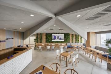 カフェスペース兼イベントスペース(c)Nacasa & Partners Inc. FUTA Moriishi