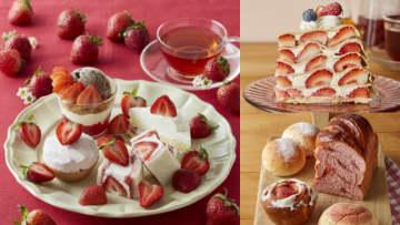 【今日はいちごの日】Afternoon Teaから3日間限定で「いちごのスペシャルメニュー」が登場♡