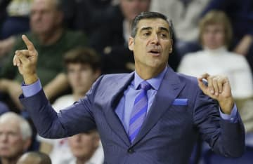 Villanova head coach Jay Wright in a December 2018 file image. On Tuesday, Jan. 14, 2020, Wright's Wildcats played host to DePaul, outlasting the visiting Blue Deamons, 79-75, in overtime. - YONG KIM/The Philadelphia Inquirer/TNS