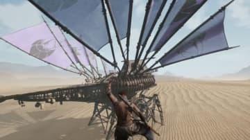 風力歩行マシンで旅する遊牧サバイバルMMO『Last Oasis』巨大怪獣が登場する最新トレイラー!