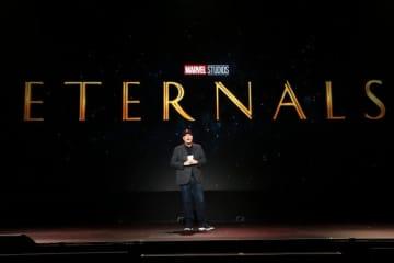 マーベル新作『エターナルズ(原題) / Eternals』ロゴ - Jesse Grant / Getty Images for Disney