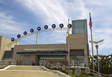Wildwoods Convention Center on the boardwalk in Wildwood. (Andrew Mills/The Star-Ledger) (Mills, Andy/)