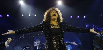 The late Whitney Houston, pictured in a 2010 performance, was chosen for the Rock & Roll Hall of Fame Class of 2020. (Joel Ryan/)