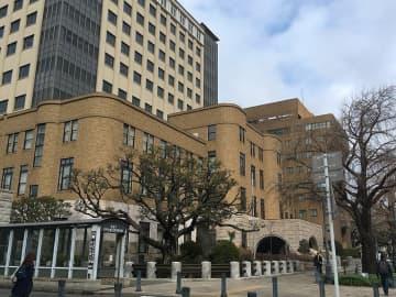 公判が開かれている横浜地裁=15日午前