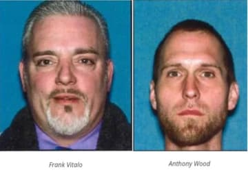 Frank Vitalo, 46 and Anthony Wood, 34 (ACPO/)