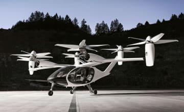 トヨタ自動車の出資先企業が開発する垂直離着陸機「eVTOL」