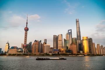 Shanghai's skyline as seen from The Bund on April 13, 2019. (Image credit: TechNode/Eugene Tang)
