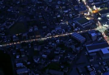 昨年9月の台風15号で停電した千葉県市原市