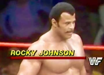 Professional Wrestler Rocky Johnson, Father of Dwayne