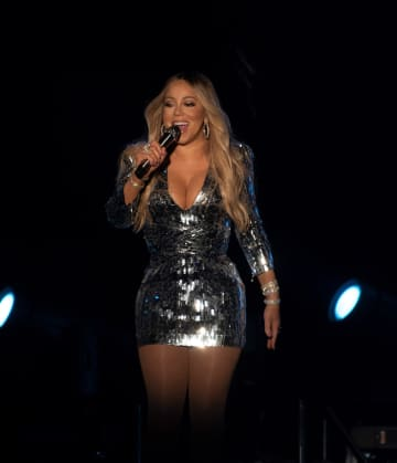 Mariah Carey performs during 2019 Festival d'ete de Quebec at Plains of Abraham on July 11, 2019 in Quebec City, Canada. - Imagespace/Zuma Press/TNS