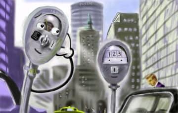 New York Parking Meter Story ©Ryoichi Miura  2020