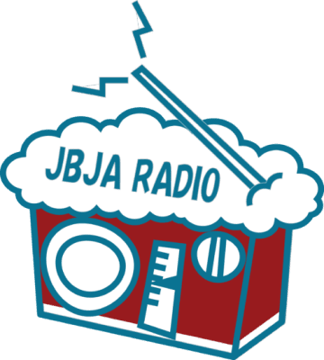 JBJA RADIOのロゴ。今回もレッドエールじゃぶらじ!
