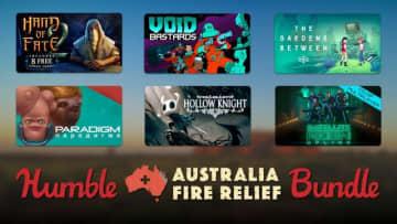 売上は全額豪山火事被害の補填に―「Humble Australia Fire Relief Bundle」開始、計29作・424ドル相当が25ドルから
