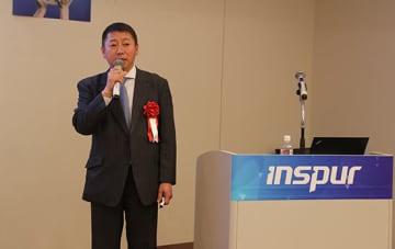 中国サーバーベンダートップの浪潮集団(Inspur)の王遠耀日本主席代表