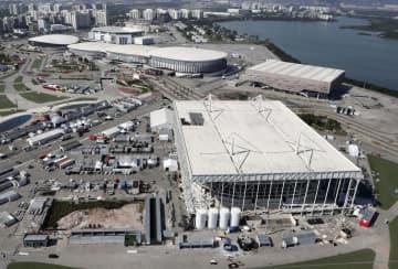 リオデジャネイロ五輪・パラリンピックのメイン会場だった「五輪公園」=2019年9月(共同)