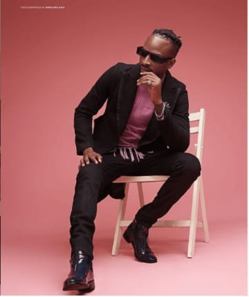 Nigerian singer 9ice clocks 40 in style