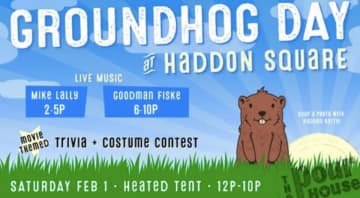 The Haddon Township Groundhog Day event will be on Feb. 1 (provided/)