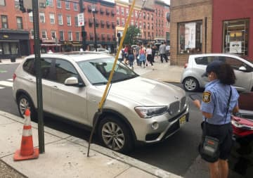 Hoboken is considering raising the price of resident parking permits. (Journal file photo/)