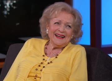 Betty White on 'Jimmy Kimmel Live'