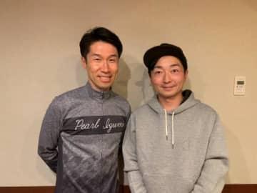 栗村修さん(左)と野島