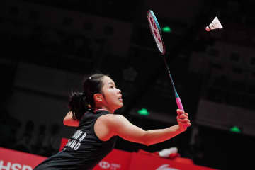 Fourth seed Ratchanok Intanon is through to the semi-finals in the Indonesia Masters. (AFP photo)
