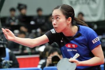 【速報】石川佳純が準決勝へ 4年ぶりの王座奪還を狙う<全日本卓球2020>