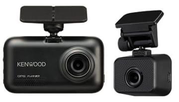 JVCケンウッドのスタンドアローン型 前後撮影対応2カメラドライブレコーダー「DRV-MR740」