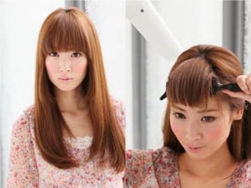 髪型の中で前髪の占める印象はとても大きいもの。「前髪ブローは面倒くさい!」という人でもできる、簡単な前髪ブロー・セット方法を紹介します。