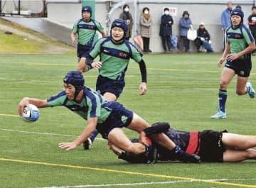 熊野が決勝進出 県高校ラグビー新人大会
