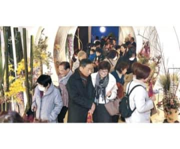 令和の秀作咲き競う 北國花展が開幕