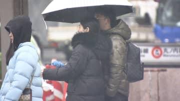 都心で雪も...今季一番の寒さ 19日朝 路面凍結に注意