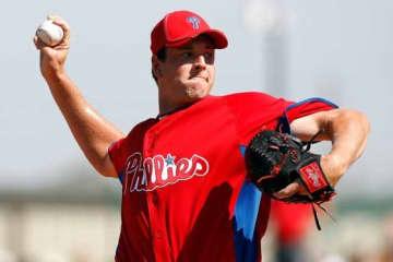 MLB時代はフィリーズでプレーしたスコット・マシソン【写真:Getty Images】