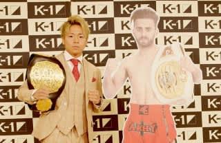 武尊(左)の対戦相手はISKA王者のブアフフ(右)に決定した
