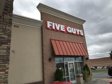 "An employee at a Five Guys location in Howell was immediately fired after calling a group of police officers ""pigs."" (Pamela Sroka-Holzmann 