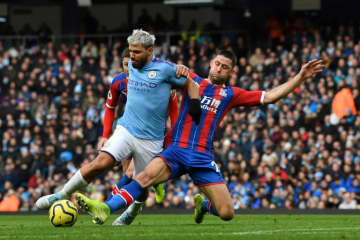 Manchester City were held to a draw by Crystal Palace.
