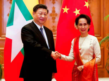 A scatalogical translation error in the name of Chinese President Xi Jinping most notably appeared on the official Facebook page of Myanmar's civilian leader Aung San Suu Kyi.