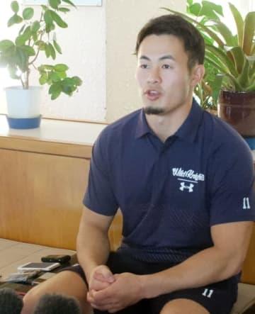 福岡堅樹「やるからにはメダルを」7人制で目指す東京五輪への思い