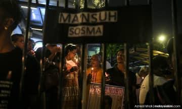 Lebih 500 sertai himpunan solidariti 100 hari tahanan Sosma