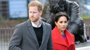 ハリー英王子とメガン妃、公務退き「殿下」の敬称返上へ 王室発表