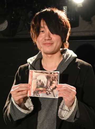 「岩手のアーティストを知ってもらえるアルバム」と語る熊谷圭祐さん
