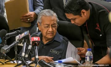 """""""选民或未感政府好处"""",马哈迪分析金马利败仗"""