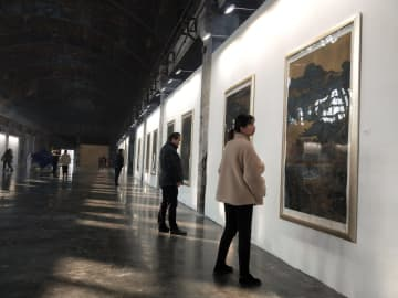 古びた工業地区が文化的ランドマークに変身 安徽省合肥市