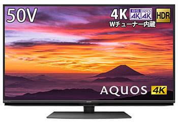 今売れてる4Kチューナー搭載テレビ、シャープAQUOSがTOP3を独占! 2020/01/19