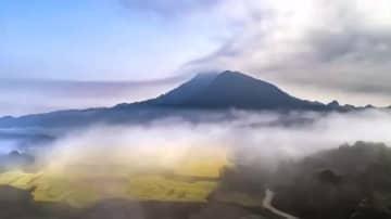 空から見た江西省