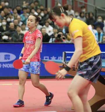 卓球、早田が女子単初優勝で2冠 全日本、男子は宇田V 画像