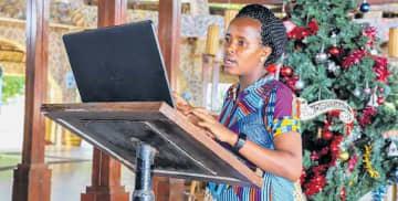 She helps people fight malnutrition