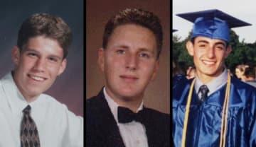 Aaron C. Karol (l), John N. Giunta and Frank S. Caltabilota Jr., were 18-year-old freshmen when they died in the Seton Hall dorm fire 20 years ago.  (Star-Ledger file photos/)