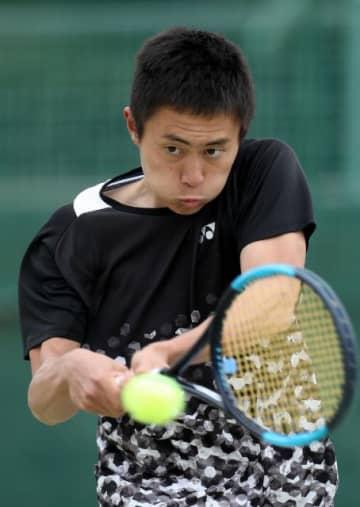 【オープンの部男子決勝】接戦を制し優勝した佐土原高の稲田颯太郎