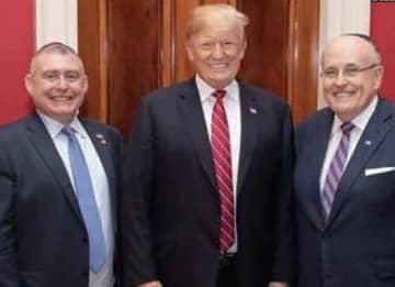 Lev Parnas, Donald Trump & Rudy Giuliani